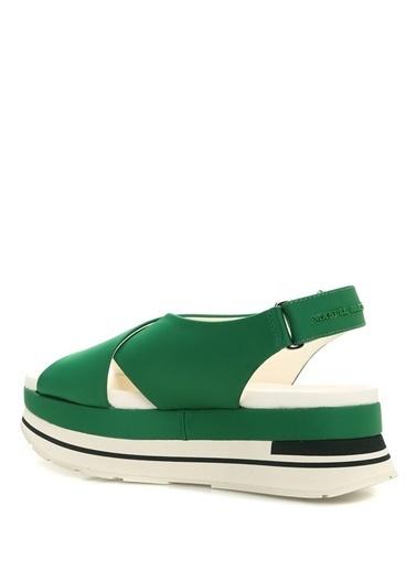 Paloma Barcelo Sandalet Yeşil